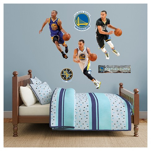 NBA Golden State Warriors Stephen Curry All Jersey Fathead Wall Decal Set - image 1 of 1