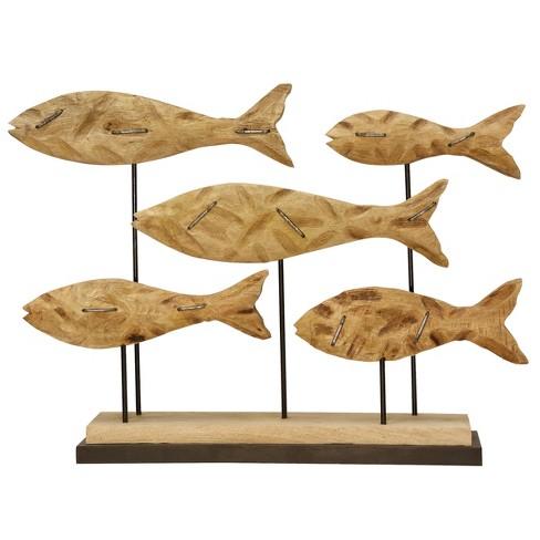 Decorative Figurine Fish Wooden - image 1 of 1
