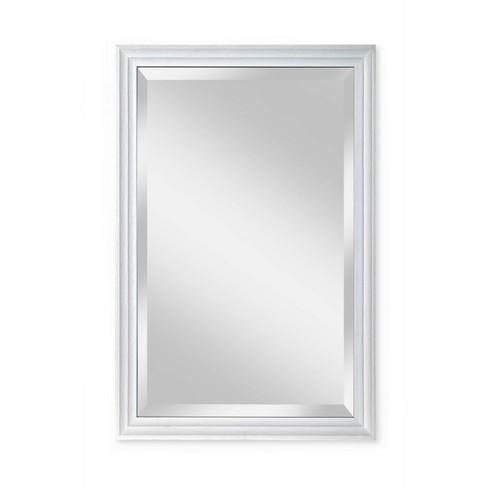 24 X 36 Meadow Framed Beveled Glass, 36 X 42 Framed Beveled Mirror