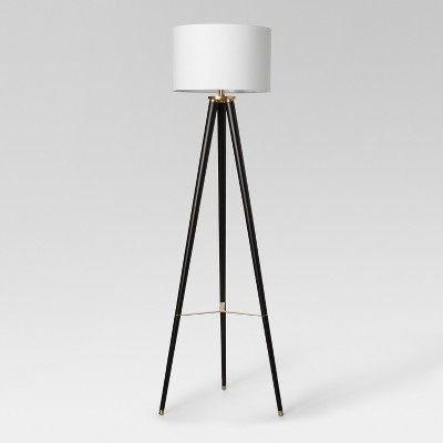 Delavan Tripod Floor Lamp Black Lamp Only - Project 62™