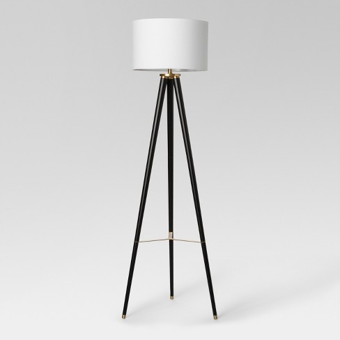 premium selection df68c 21030 Delavan Tripod Floor Lamp Black Lamp Only - Project 62™