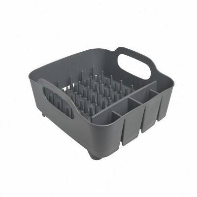 Plastic Dish Rack Tub Gray - Umbra