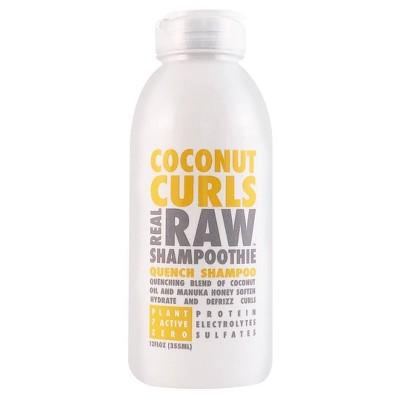 Real Raw Shampoothie Coconut Curls Quench Shampoo - 12 fl oz
