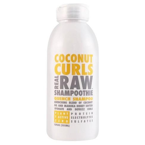 Real Raw Shampoothie Coconut Curls Quench Shampoo - 12 fl oz - image 1 of 3