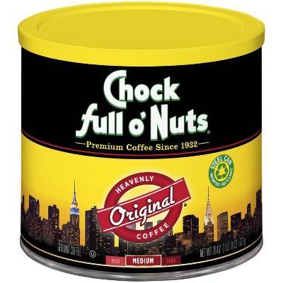 Chock Full O'Nuts Original Medium Roast Ground Coffee - 26oz