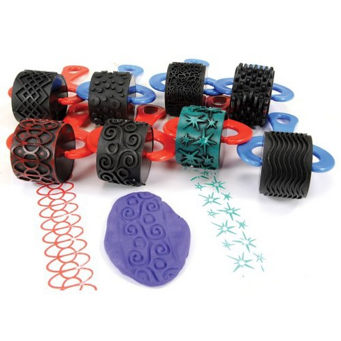 Center Enterprises Jumbo Paint and Clay Explorer Rollers - Set of 8 - image 1 of 1