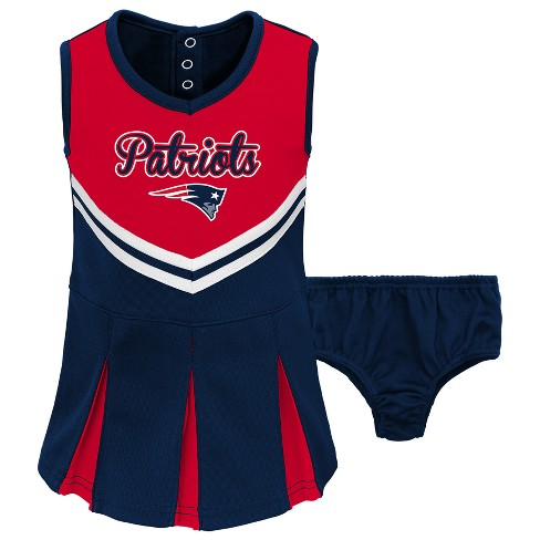 cfb698c7 NFL New England Patriots Infant/ Toddler In The Spirit Cheer Set : Target