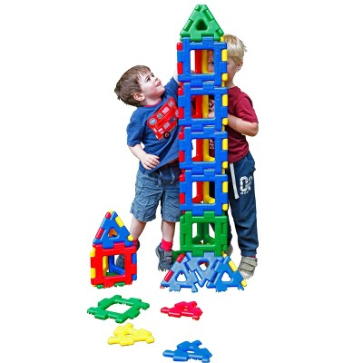 Polydron Giant Polydron Building Manipulatives, set of 40