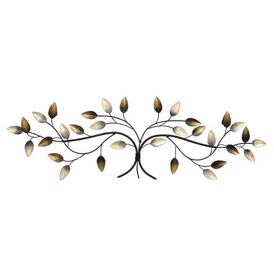 Over The Door Blowing Leaves Wall Decor - Stratton Home Decor