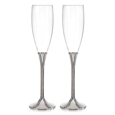 Zippered Elegance Flute Drinkware Clear - Hortense B. Hewitt - image 1 of 1