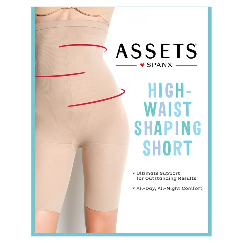 583336bc03 Assets By Spanx Women s High-Waist Mid-Thigh Super Control Shaper   Target