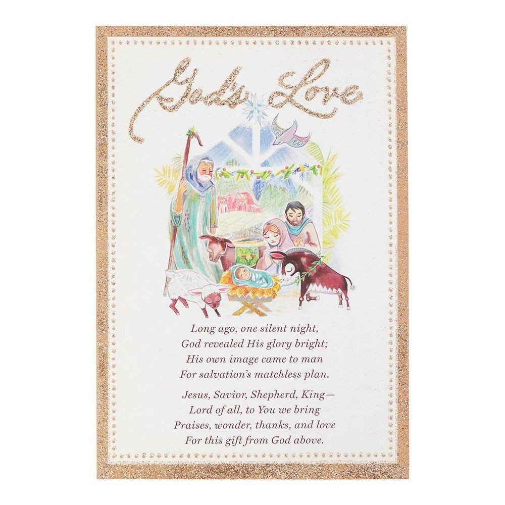 Image of 14ct God's Love Greeting Cards - Dayspring