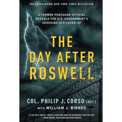 The Day After Roswell - by  William J Birnes & Philip Corso (Paperback) - image 1 of 1