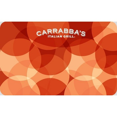 Carrabbas $50 (Email Delivery)