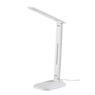 Dimmable Desk Lamp with Straight Neck (Includes LED Light Bulb) - Adesso