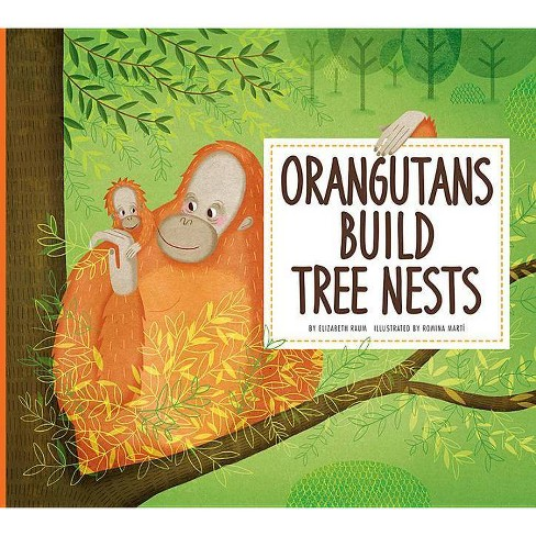 Orangutans Build Tree Nests - (Animal Builders) by  Elizabeth Raum (Paperback) - image 1 of 1