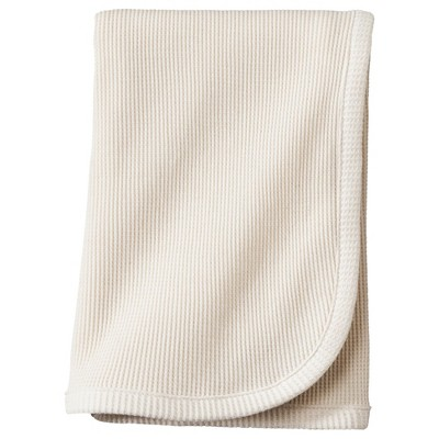 TL Care® Organic Cotton Thermal Swaddle Blanket - Natural