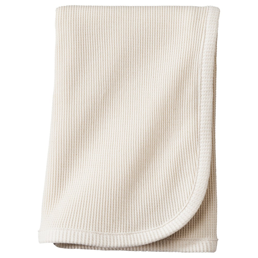 TL Care Organic Cotton Thermal Swaddle Blanket - Natural