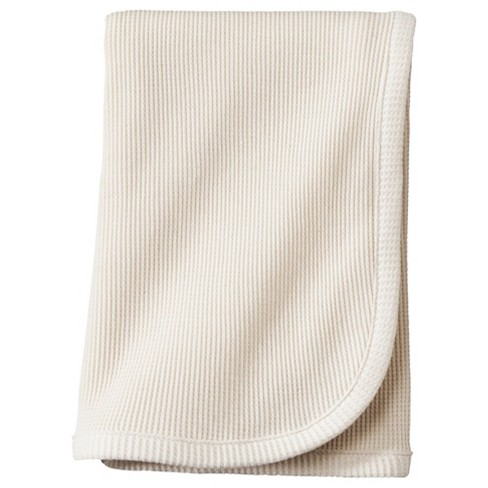 TL Care Organic Cotton Thermal Swaddle Blanket - Natural - image 1 of 1