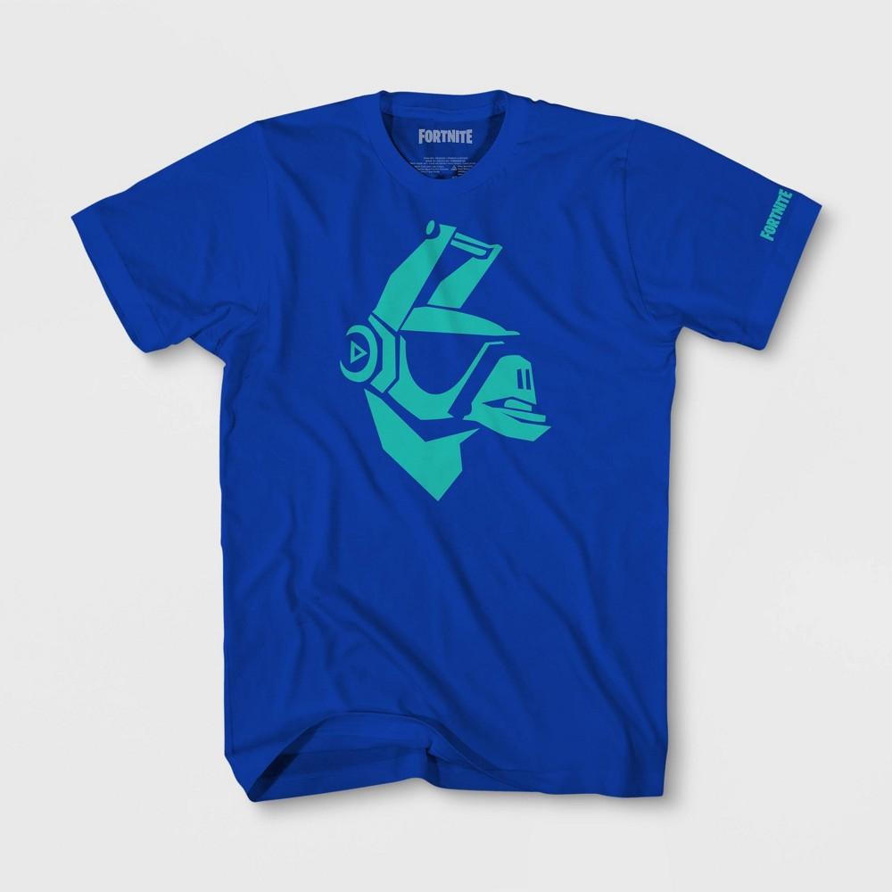 Image of petiteBoys' Fornite DJ Yonder Short Sleeve T-Shirt - Blue L, Boy's, Size: Large