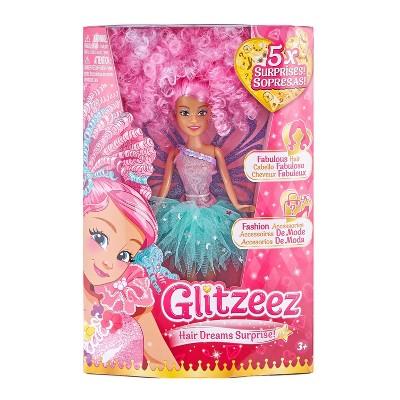 Glitzeez Hair Dreams Surprise Doll  - Pink Hair