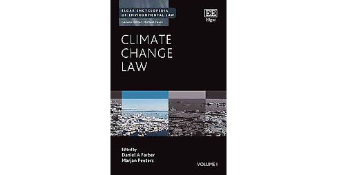 Climate Change Law (Vol 1) (Hardcover) - image 1 of 1