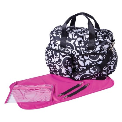 French Bull Vine Deluxe Duffel Diaper Bag
