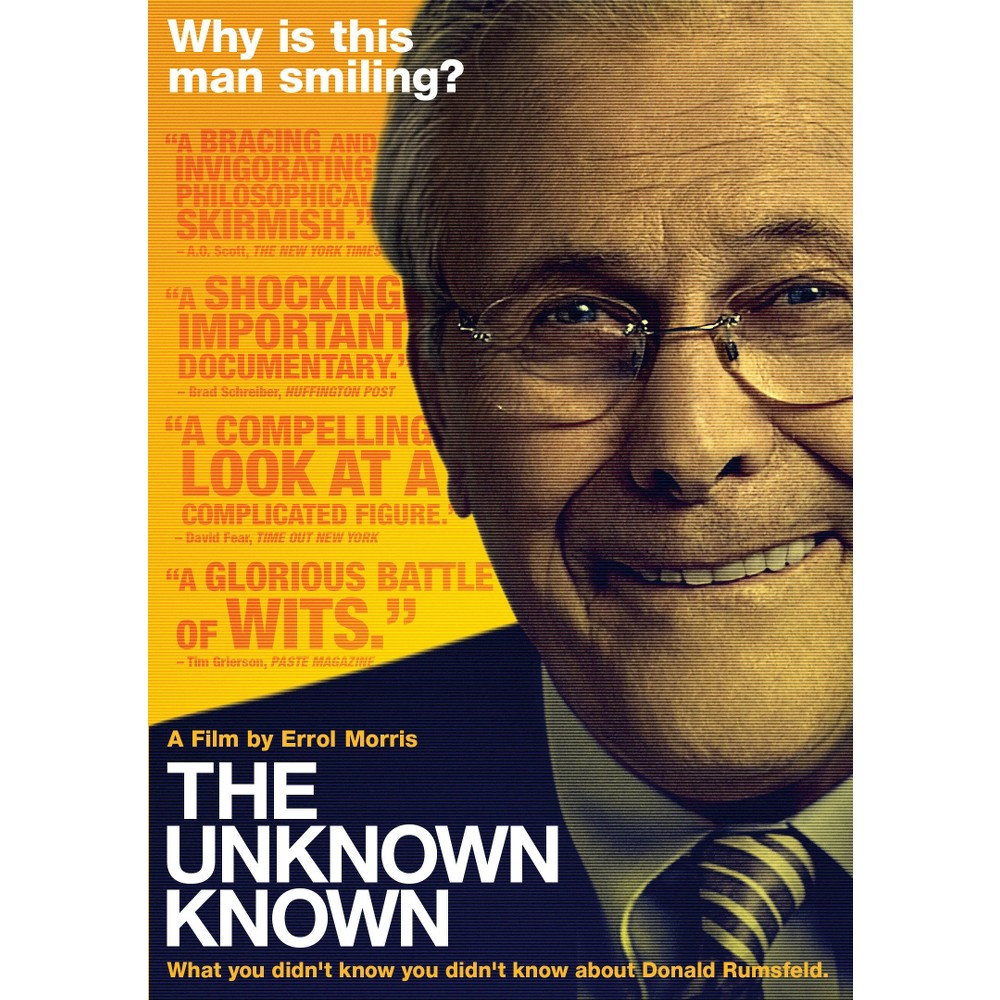 Unknown Known (Dvd), Movies