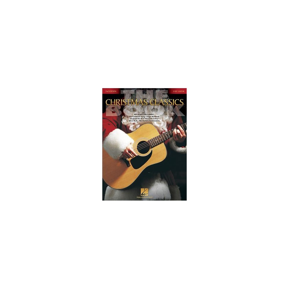Christmas Classics Book : Easy Guitar Without Tablature - (Paperback)
