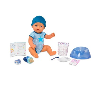 Baby Born Interactive Boy Doll Blue Outfit Target