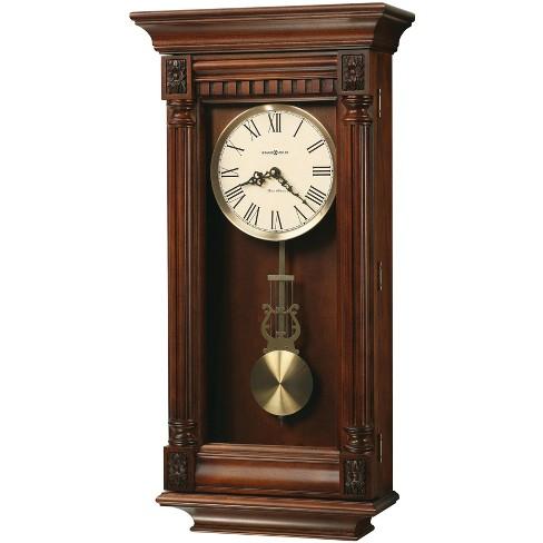 Howard Miller 625474 Howard Miller Lewisburg Wall Clock 625 474 Tuscany Cherry Target