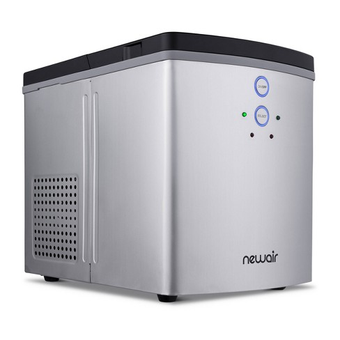 NewAir 33lbs Portable Ice Maker - Silver - image 1 of 4