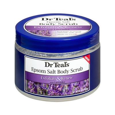 Dr Teal's Exfoliate & Renew Epsom Salt Body Scrub - Lavender - 16oz
