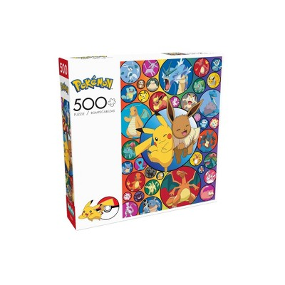 Buffalo Games Entertainment: Pokemon Pikachu & Eevee Jigsaw Puzzle - 500pc