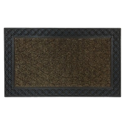 Mohawk Chain-Link Doormat - Brown (1'6 x2'6 )