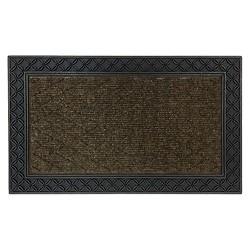 """Mohawk Chain-Link Doormat - Brown (1'6""""x2'6"""")"""