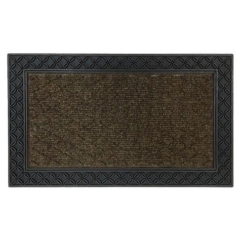 """Mohawk Chain-Link Doormat - Brown (1'6""""x2'6"""") - image 1 of 1"""