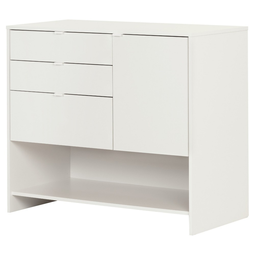 Crea Craft Storage Cabinet with Drawers - Pure White - South Shore