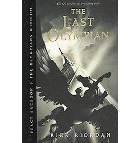 The Last Olympian ( Percy Jackson and the Olympians) (Hardcover) by Rick Riordan - image 1 of 1