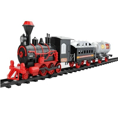 """Northlight 13-Piece Battery Operated Lighted and Animated Christmas Express Train Set with Sound 9.25"""""""