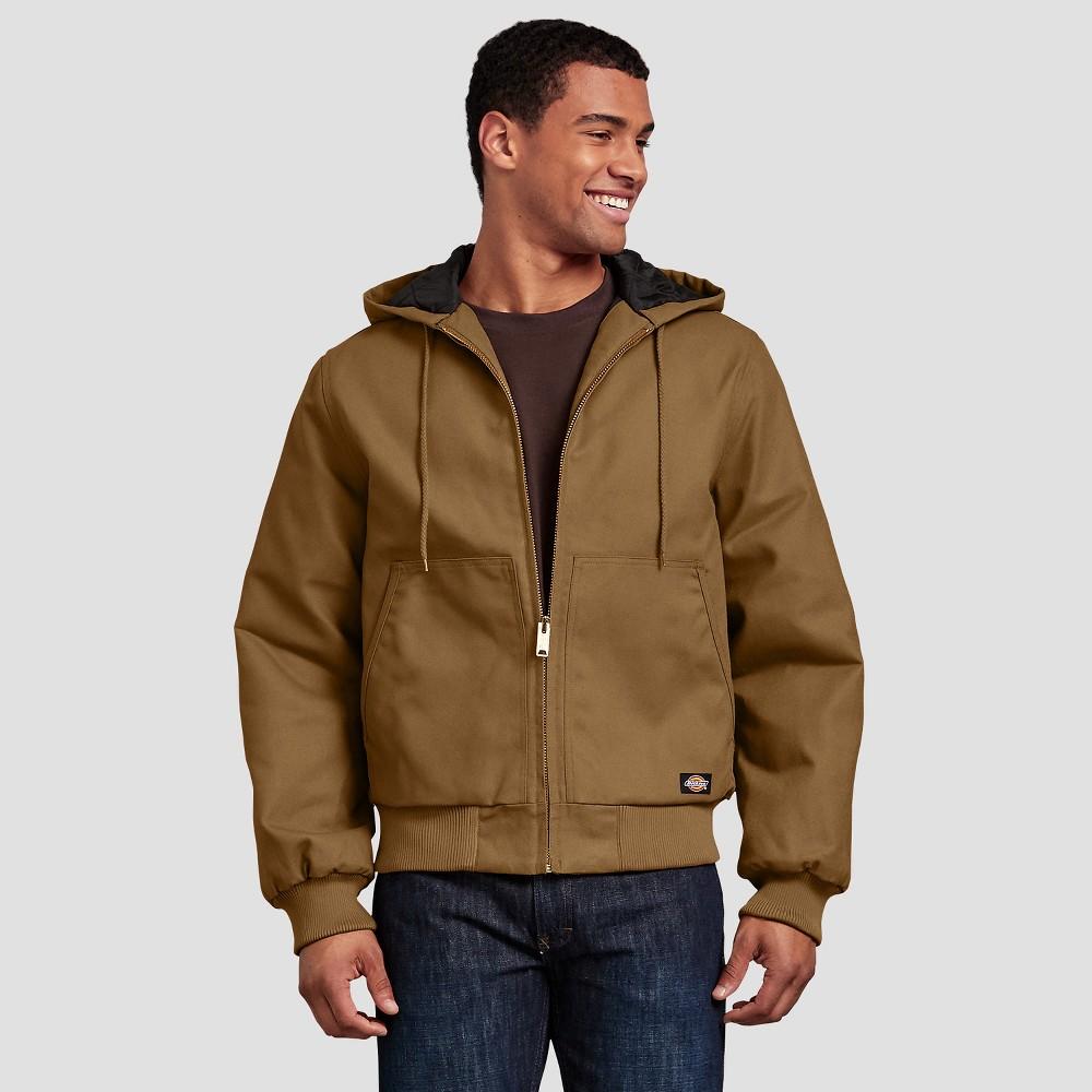 Dickies Men's Long Sleeve Duck Jackets - Brown XL