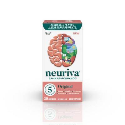 Neuriva Original Brain Performance Capsules - 30ct