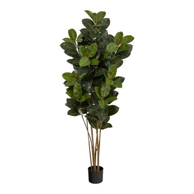 5.5' Indoor/Outdoor Oak Artificial Tree - Nearly Natural