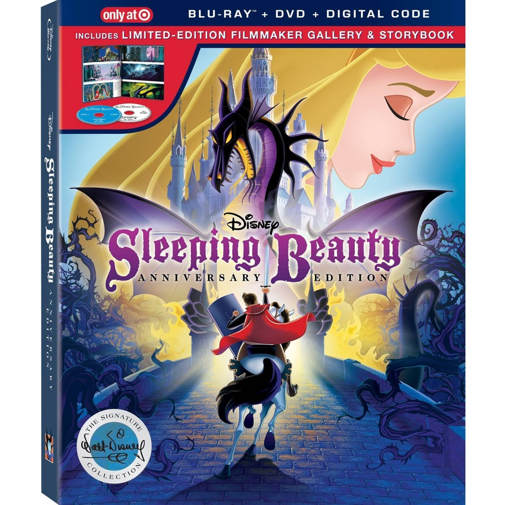 Sleeping Beauty: Signature (Target Exclusive) (Blu-Ray + DVD + Digital) was $28.99 now $20.29 (30.0% off)