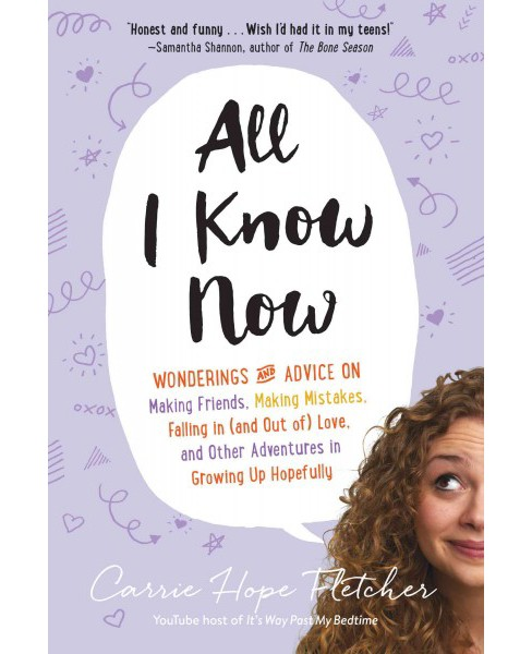 All I Know Now : Wonderings and Advice on Making Friends, Making Mistakes, Falling in (and Out Of) Love, - image 1 of 1