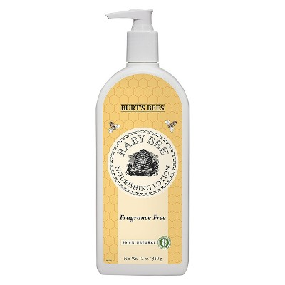 Burt's Bees Baby Bee Fragrance Free Nourishing Lotion - 12 oz