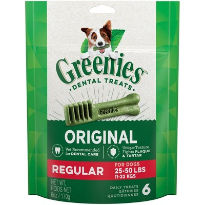 Dog Treats: Greenies Regular