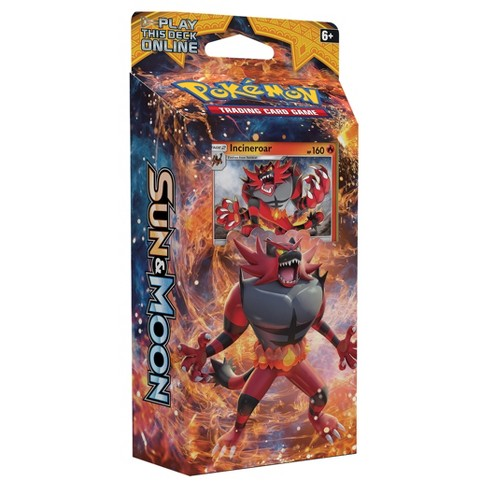 2017 Pokemon Trading Card Game Sun & Moon S1 Theme Deck featuring Incineroar - image 1 of 2