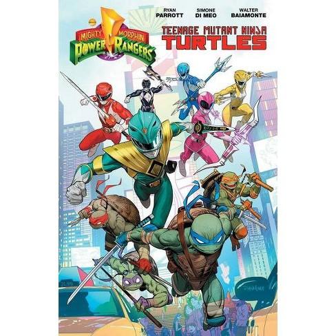 Mighty Morphin Power Rangers/Teenage Mutant Ninja Turtles - by  Ryan Parrott (Paperback) - image 1 of 1