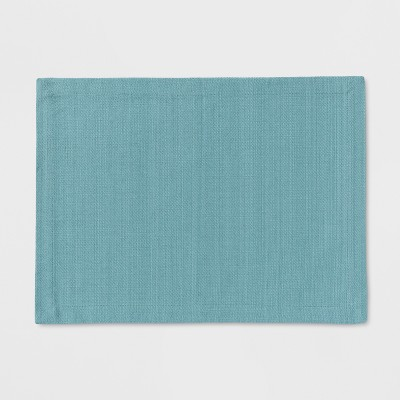 19 x14  Kitchen Textile Placemat Aqua - Threshold™